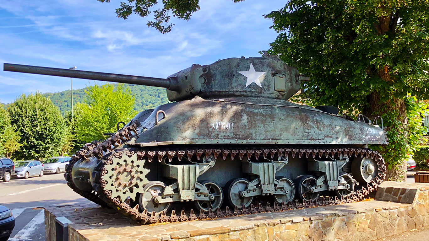 Sherman tank, The Beaujolais Run 2018