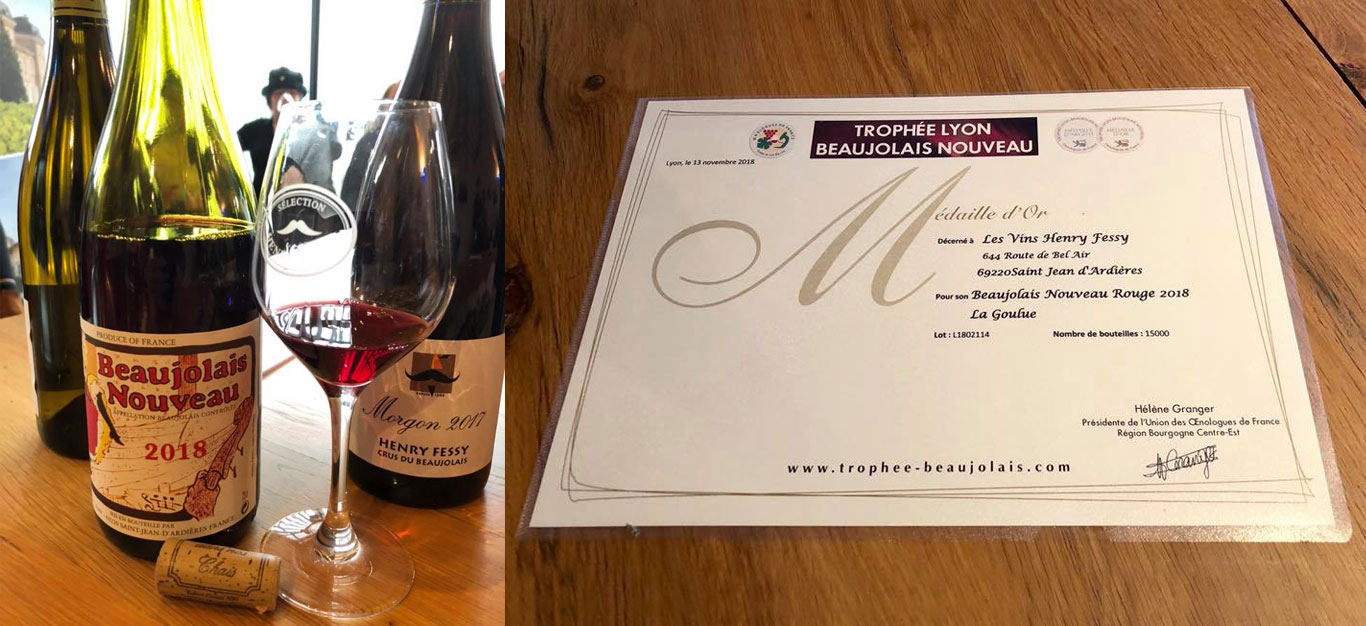 Gold for Henry Fessy, The Beaujolais Run 2018