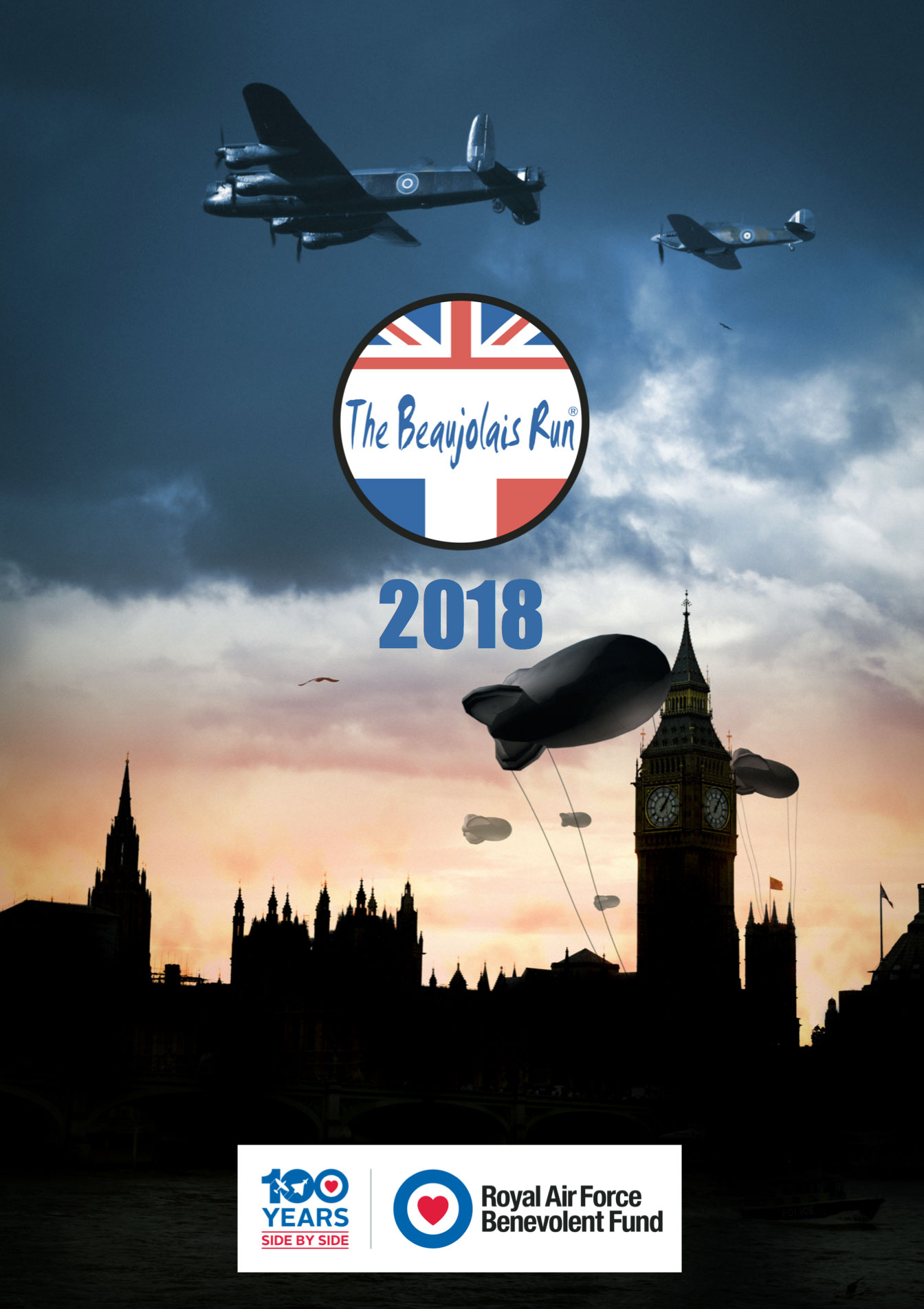 RAF Benevolent Fund Beaujolais Run 2018